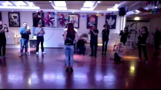 Bobby Simon kizomba demo -- LadiesSide -- AfroLatinVallage at Casa di caccia Italy