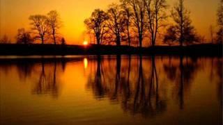 Tyliai leidžias pavargusi saulė + žodžiai