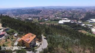 Gondomar (Porto), Portugal view by DJI Phantom 3 Drone