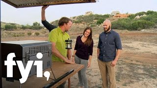Tiny House Nation: Add-On Grill Station (S3, E11) | FYI