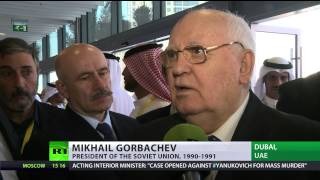 Gorbachev: Bulldoze EU & US aides from Ukraine and let the people decide