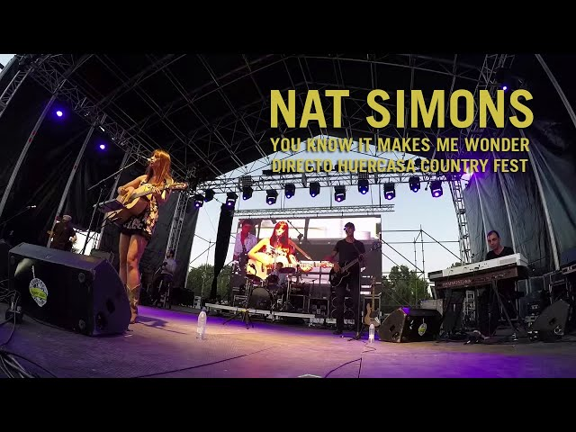 Video Nat Simons en directo.