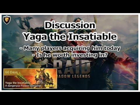 RAID Shadow Legends | Discussion | Yaga the Insatiable