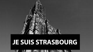 Hommage place kleber Strasbourg 16/12/2018 suite à l'attentat au marché de Noel le 11/12 Vidéo 1/2