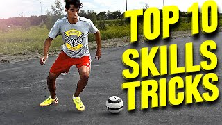 TOP 10 - Futsal Skills & Football Tricks - Tutorial