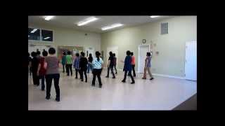 Twistin' The Night Away ~ Carol (Crazyhorse) Bates - Line Dance (Walk thru & Danced)