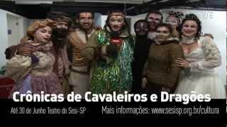 Teatro do Sesi-SP apresenta Crônicas de Cavaleiros e Dragões - O Tesouro dos Nibelungos