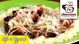 Receita de Bife à Pizzaiolo - Tv Churrasco