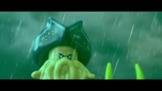PIRATES OF THE CARIBBEAN 3 DAVY JONES DEATH LEGO VERSION