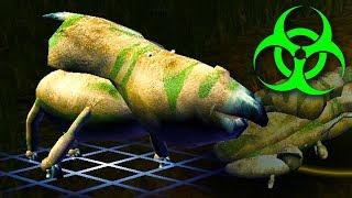 Forcing Dinosaur Evolution Using Massive Amounts Of Radiation in Species