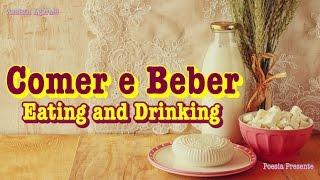 Mensagem de Sabedoria 🎐 Khalil Gibran - Comer e Beber ∫ Eating and Drinking 🌻