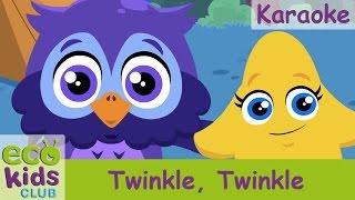 Twinkle, Twinkle from EcoKids Club - Karaoke - Children Nursery Rhyme - Kids Songs