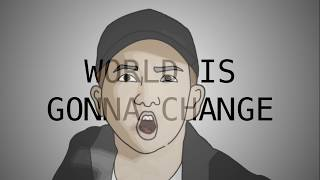 RM, Wale 'Change' [Lyric Video & Animation]