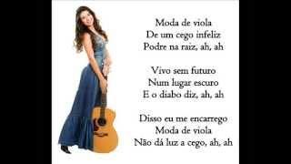 Paula Fernandes - Viola fora de moda