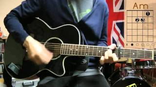 Fun - We are young Guitar Lesson - Chords