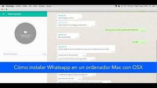 Cómo instalar Whatsapp en un ordenador Mac