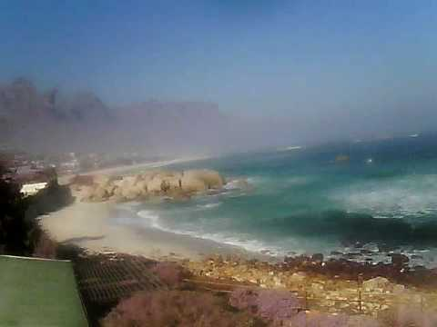 Timelapse Video – Glen Beach & Camps Bay – 06/08/2010