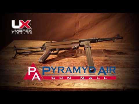 Video: Umarex Legends MP fully automatic BB gun   Pyramyd Air