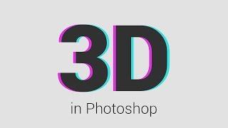 Photoshop'ta Fotoğrafa 3D Efekti Verme