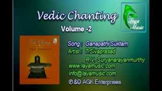 Vedam - Sanskirit - Ganapathi Suktam- Vedic Chanting - Volume 2 width=