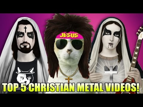 Top 5 CRINGE-tastic Christian Metal Videos!