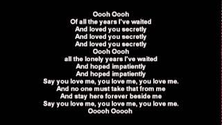 Demis Roussos - Say You Love Me
