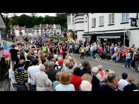 Llangollen International Eisteddfod Parade 6th July,  Part 1
