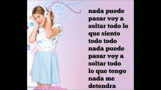 Violetta - En Mi Mundo (Letra)