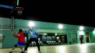 Laugh trip with funny announcer while we are playing Basketball
