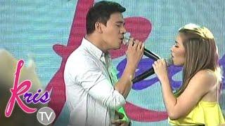 Angeline and Erik sing 'Kung Akin Ang Mundo' on Kris TV