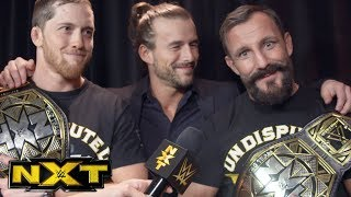 """The Undisputed ERA's """"peace offering"""" to Authors of Pain: NXT Exclusive, Jan. 24, 2018"""