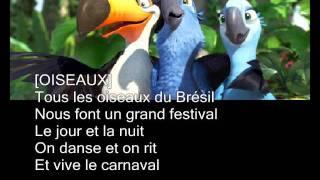 Rio (2011) - Chanson de début - Français
