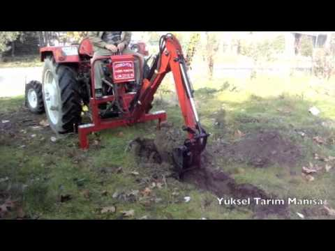 Mini Kazıcı Kepçe Hidro-Yük / Yüksel Tarım Manisa