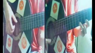 Gülümcan Fon Müziği    [ Tek Gitar ve Çift Ses!]