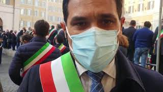 ROMA: PROTESTA DEI SINDACI CALABRESI PER LA SANITA'
