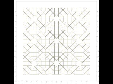 伊斯蘭的幾何拼貼 06