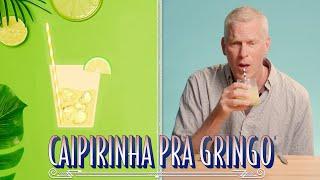 COMO FAZER A MELHOR CAIPIRINHA DO MUNDO | GRINGOS PROVAM PELA PRIMEIRA VEZ | RAIZA COSTA