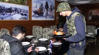 PUBG game theme restaurant opens in Srinagar