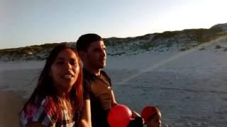 Eu,ela e ele no Peró 😍😘😃😁