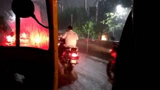Live : Heavy Rain, Thunder & Lightning - Video from Gemini Bridge