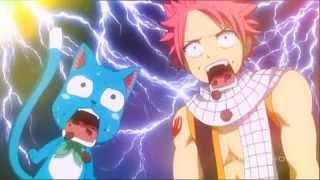 "AMV Natsu and Lucy (NaLu) - Fairy Tail ""Glitter"""