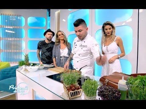 Salată de castraveți marinați și ceapă infuzată