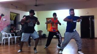 The Bilz & Kashif - Tera Nasha choreography by street dancers crew