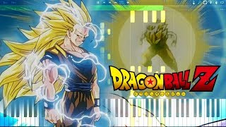 Dragon Ball Z OST - SSJ3 Goku Theme | Piano Tutorial, ドラゴンボールZ【ピアノ】