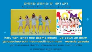 MOMOLAND JJan! Koong! Kwang! 모모랜드 instrumental Hangul rom