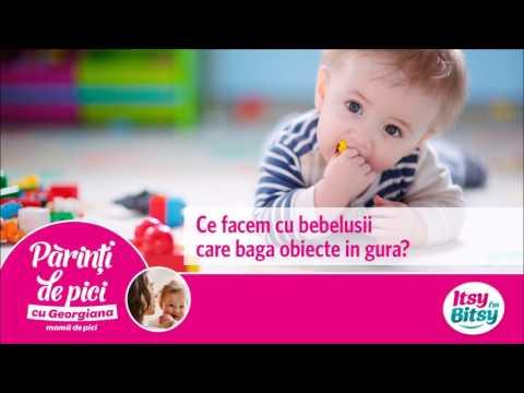 Ce facem cu bebelusii care baga obiecte in gura?