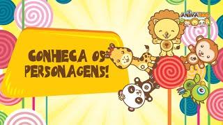 Conheça os Personagens da Turminha do Animazoo