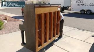 How To Move an Upright Piano Yourself DIY width=
