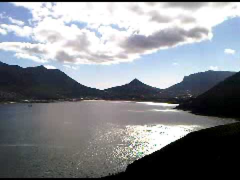Chapmans Peak view of Hout Bay Cape Town South Africa