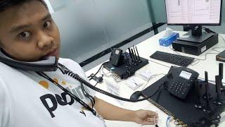 Peplink Unbreakable VoIP Calls ถอดสาย Wan เทสโชว์ โทรระหว่างสาขาผ่าน vpn ไม่มีหลุด หรือสะดุด